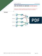 8.1.4.7 Packet Tracer - Subnetting Scenario - ILM