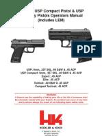 USP Manual REV 3-07