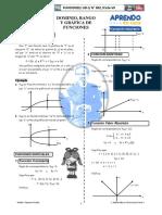 Dominio, Rango y Gráfica Funciones Nivel 1