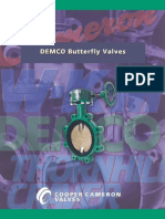 DEMCO BUTTERFLY VALVE
