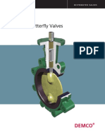 CAMERON-DEMCO BUTTERFLY VALVE