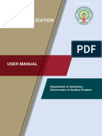 Common Application Form (CAF) - Manual