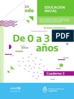Ministerio de Educación_cuadernillo 3_de 0 a 3 Años
