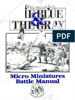 The Blue & The Gray [1993] [Micro Miniatures Battle Manual]