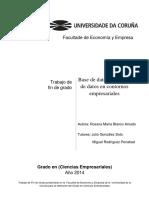 Base de datos y minería de datos en contornos empresariales.