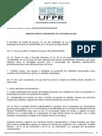 SEI_UFPR - 2580417 - Ordem de Serviço