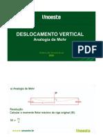 RM II  Flecha  Analogia de Mohr
