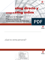 12. Marketing directo y online