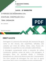 Aula 01 - Drenagem - 11-05-2020