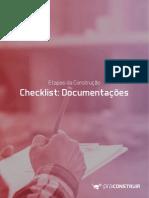 Checklist documentacoes