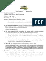 Portfólio 02 - Escola, Curriculo e Avaliação Institucional