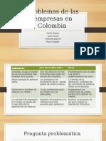 Problemas de las empresas en Colombia