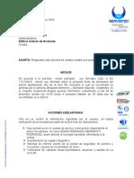 RESPUESTA HURTO DE ELEMENTOS - APTO 401 BLOQUE 5 - CONDOMINIO PALMA REAL