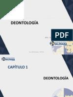 DEONTOLOGÍA - Cap I