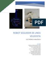 REPORTE ROBOT SEGUIDOR DE LINEA
