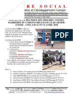 Activités 0001 Du Lundi 11 Mai 2020