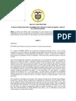 EXTRADICION DOBLE INCRIMINACION CONCIERTO Y TRAFICO DE ESTUPEFACIENTES.REV