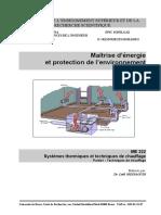 Maitrise de l'Energie Et Protection de l'Environnement