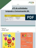 Guía nº 5, Infografía, verbos