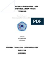 an Perdagangan Luar Negeri Indonesia