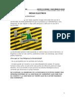 RIESGO ELECTRICO TALLER LABORATORIO