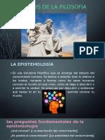 d. Campos de La Filosofía