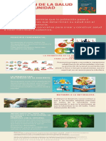 Infografia promocion de la salud en la comunidad