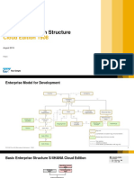 S4HANA Cloud 1908 - Organizational Structure Overview