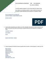 Cuestionario de la unidad 4 de materiales automotrices