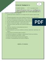 FICHA DE TRABAJO N° 2 Historia de la Química