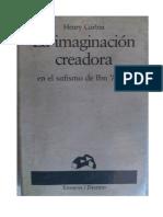 La Imaginación Creadora, Henry Corbin