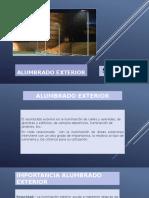 ALUMBRADO EXTERIOR