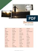 How to Breathe Vocabulary