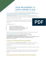 Ficha técnica de produto_Como montar