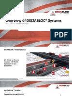 Overview DELTABLOC Systems complete - EN