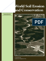 (Cambridge Studies in Applied Ecology and Resource Management) David Pimentel - World Soil Erosion and Conservation-Cambridge University Press (2009)