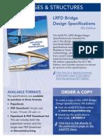 LRFD Bridge Design Specifications-9th Flyer