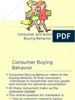 Consumer and Business Buying Behavior