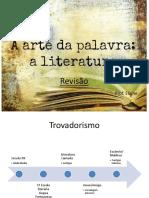 Revisão Literatura 3ªsérie