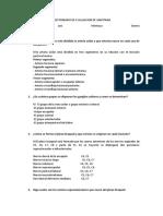 CUESTIONARIO DE EVALUACION DE ANATOMIA