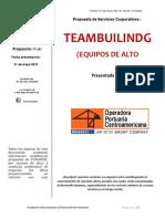 Propuesta OPC Teambuilding