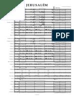 JERUSALÉM sal cordas - Partituras e partes (1)