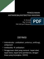K6. Penggunaan Antibiotik Rasional