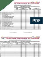 Registro de cia Diaria (4 Semanas)