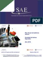 Presentacion Plan Anual de Auditoria Interna 2019