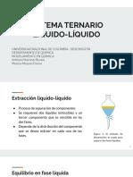 Sistema ternario presentación