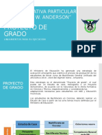 LINEAMIENTOS PROYECTO DE GRADO