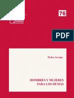 Arrupe, P., !973, Hombres y mujeres para los demás- Cuaderno EIDES 2015.pdf