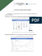Ghid de Monitorizare Utilizatori Platforma GSuite