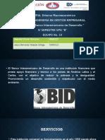 Banco Interamericano de Desarrollo EQ 10